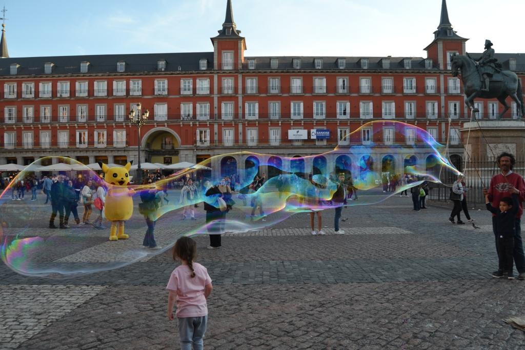 Historias en la Plaza Mayor